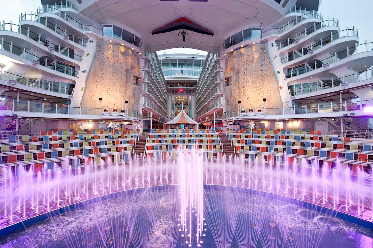 Allure Of The Seas This Is Not A Cruise Ship An All In One Adventure Hop On And Immerse Yourself Nonstop Entertainment