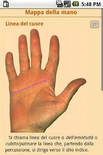Lettura della mano- screenshot thumbnail