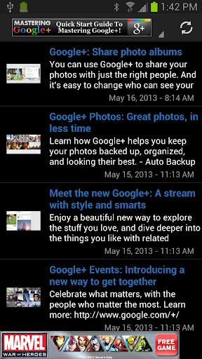 免費下載通訊APP|Mastering Google+ app開箱文|APP開箱王