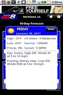 KNOE 8 WX- screenshot thumbnail