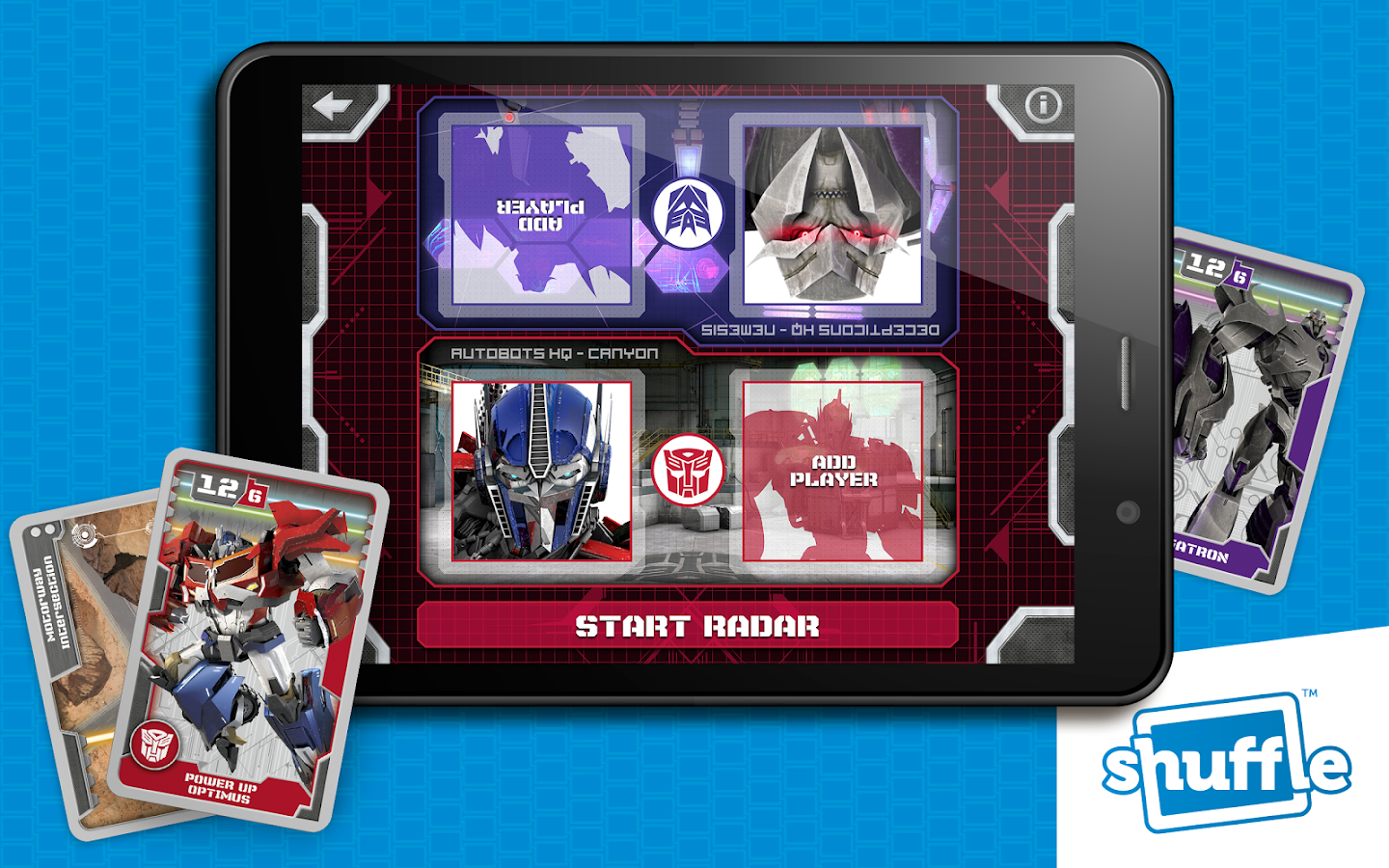 TransformersCards by Shuffle- screenshot