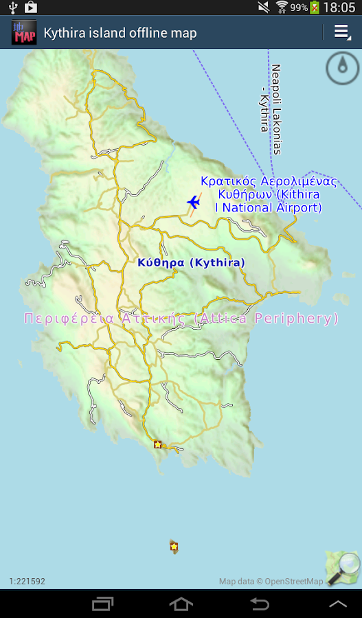 Kythira island offline map Android Apps on Google Play
