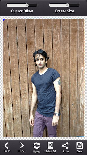 写真の背景チェンジャー