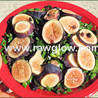 Dandelion Greens Fig Salad