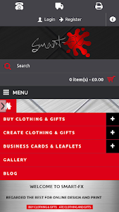 Smart-FX Shop & online design screenshot 6