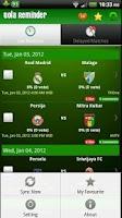Screenshot of Bola Reminder - Indonesia