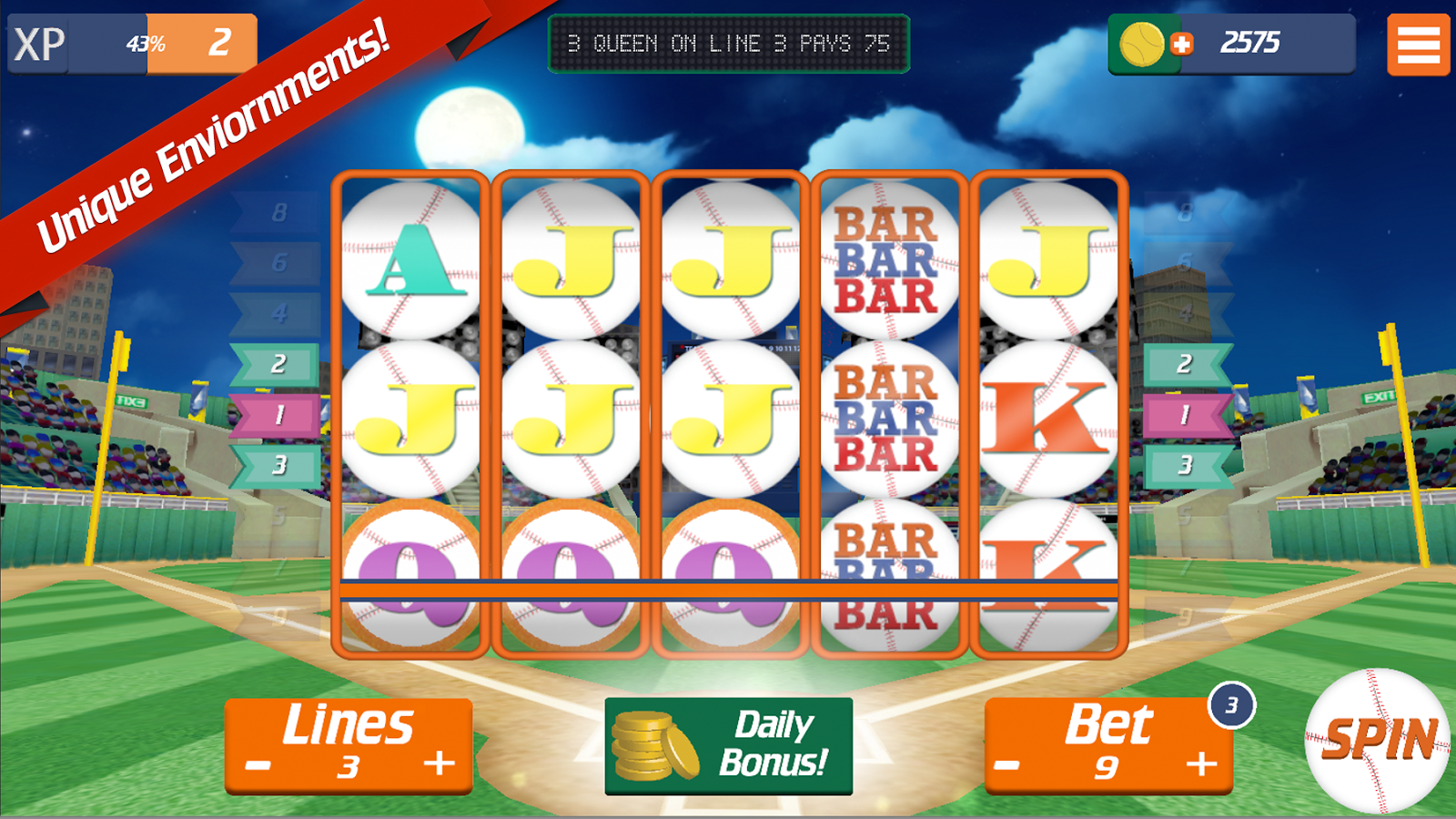 Home Run Slots- screenshot