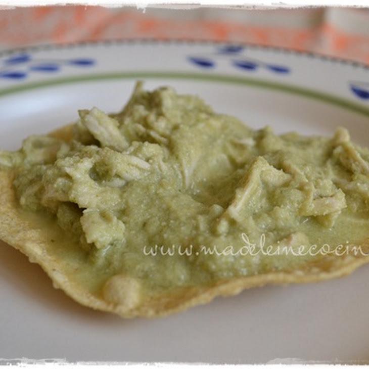 Guanajuato-style Green Mole Sauce