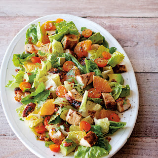 Chopped Salad with Chicken, Citrus & Avocado