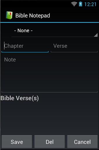 Bible Notepad Lite