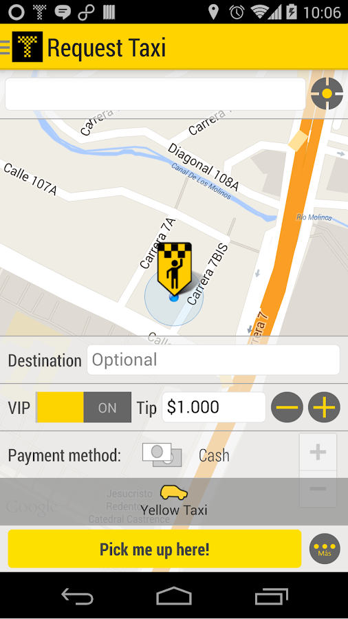 Tappsi - Safe Taxi- screenshot