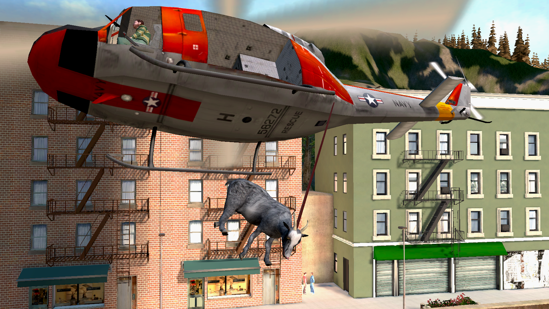 Goat Simulator screenshot #10