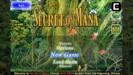 Secret of Mana- screenshot thumbnail