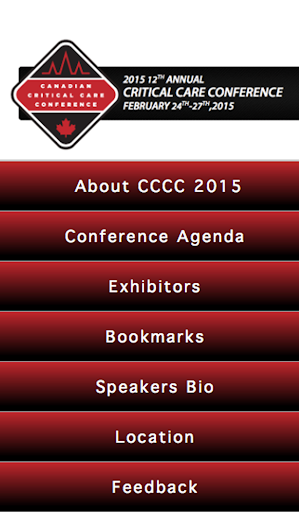 CDN Critical Care Conference