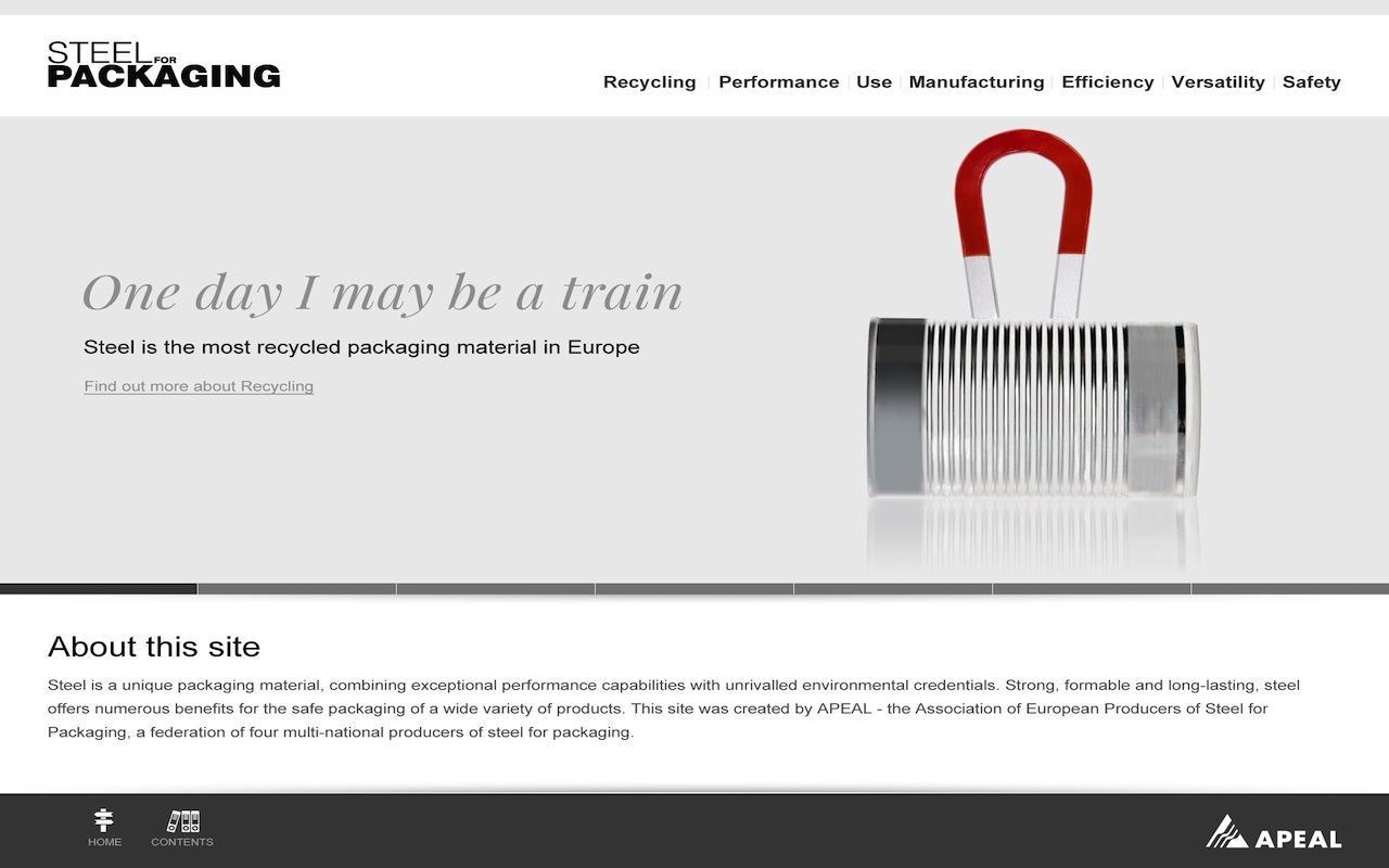 Steel for Packaging 2.0- screenshot