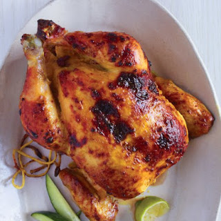 Tandoori-Marinated Chicken with Cucumber, Lime, and Chiles