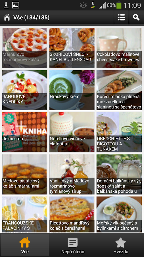 Food-blogs cz- screenshot