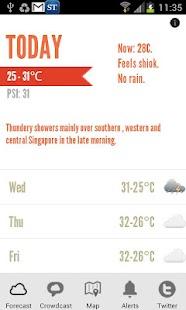 WeatherLah- screenshot thumbnail
