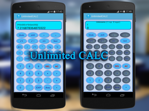 Calculatrice +widget