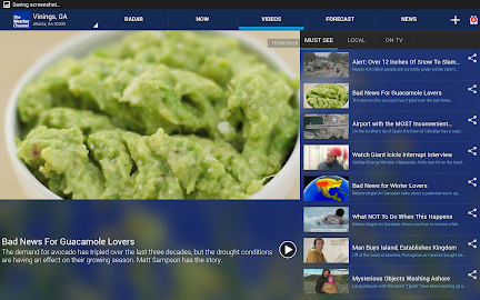 The Weather Channel Screenshot 2
