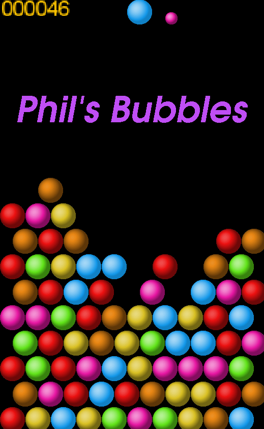 Phil's Bubbles- screenshot