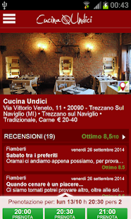 Cucina Undici- screenshot thumbnail