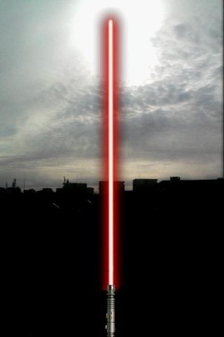 Augmented Star Wars Lightsaber - screenshot