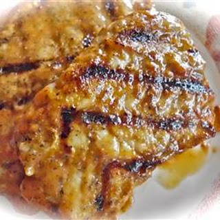 Glazed Grilled Pork Chops