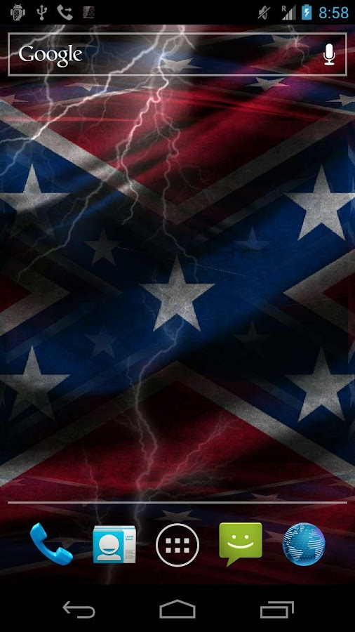 3D Rebel Flag Live Wallpaper - screenshot