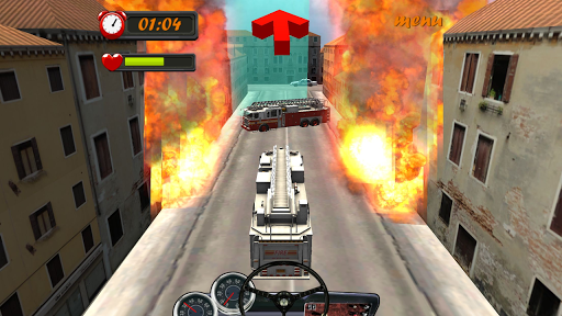 Fire Truck Driving Madness 3D