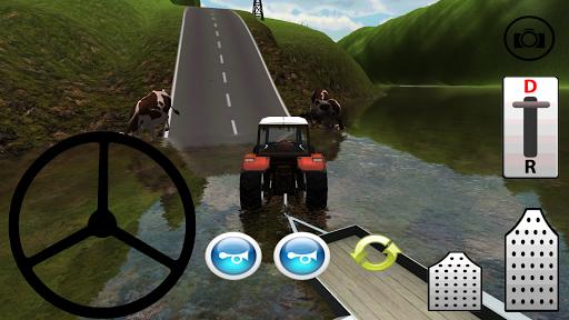Traktör ile Zorlu Tırmanış 3D