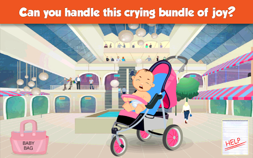 Supermom - Baby Care Game - screenshot