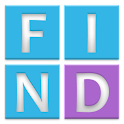 FIND words and numbers icon