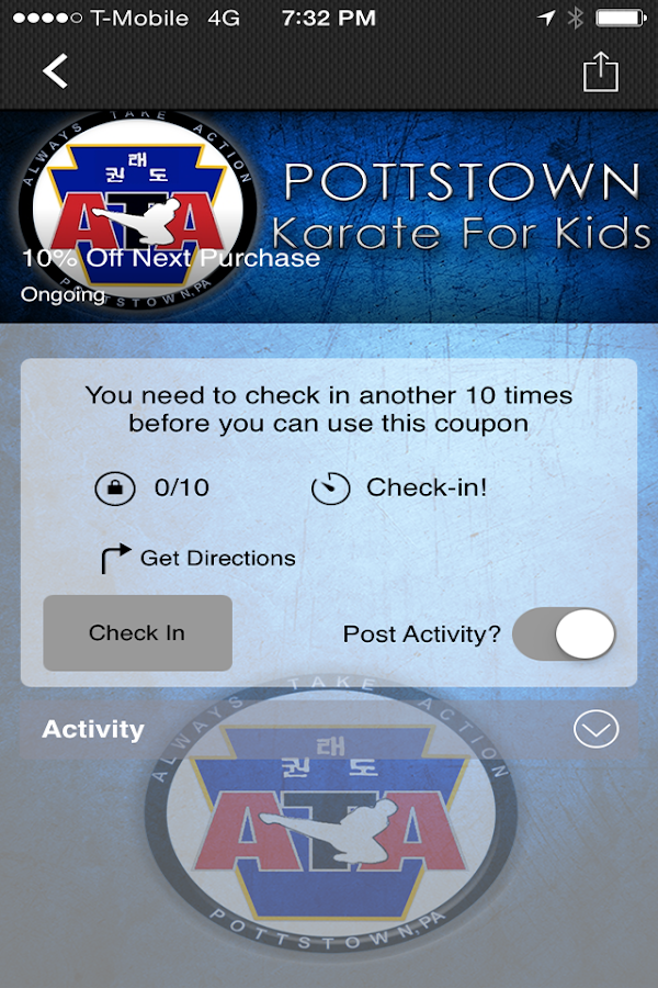 Pottstown ATA- screenshot
