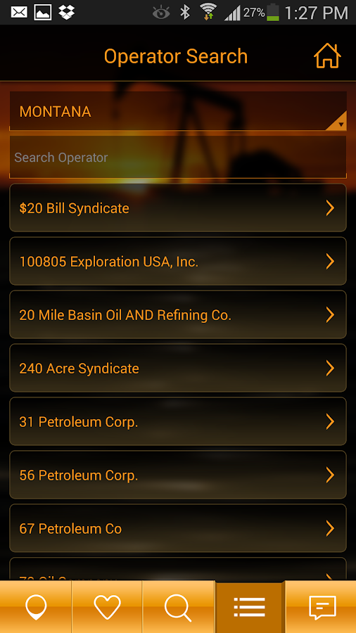 Bakken Oil -Black Gold Mapping - screenshot