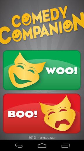 【免費娛樂App】Comedy Companion-APP點子