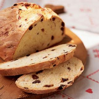 Saffron and Raisin Breakfast Bread.