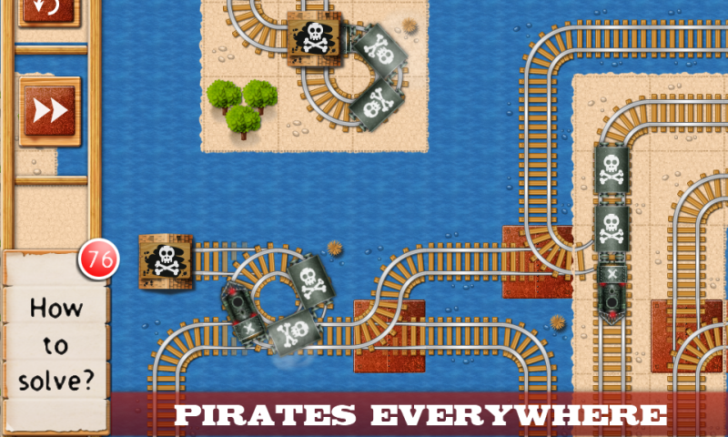 Rail Maze : Train puzzler - screenshot