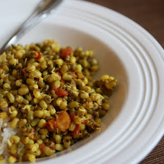 Sprouted Mung Bean Saute.