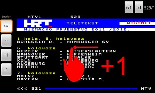 HRT Teletekst screenshot 2