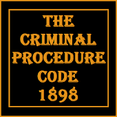 Criminal Procedure Code 1898