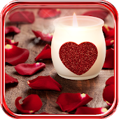 Candles Valentines Day LWP