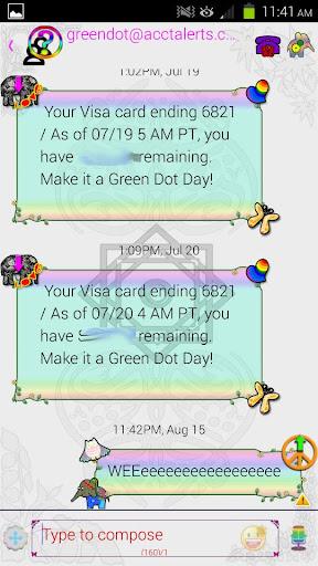 【免費個人化App】GO SMS Peace Love Bohemian-APP點子