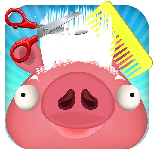 豚ヘアーサロン - 楽しいゲーム 休閒 App LOGO-APP試玩