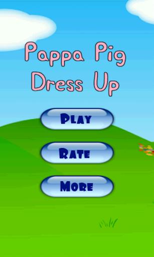 Pappa Pig Dress Up