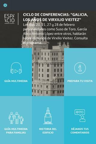 Audioguía Fundación Telefónica