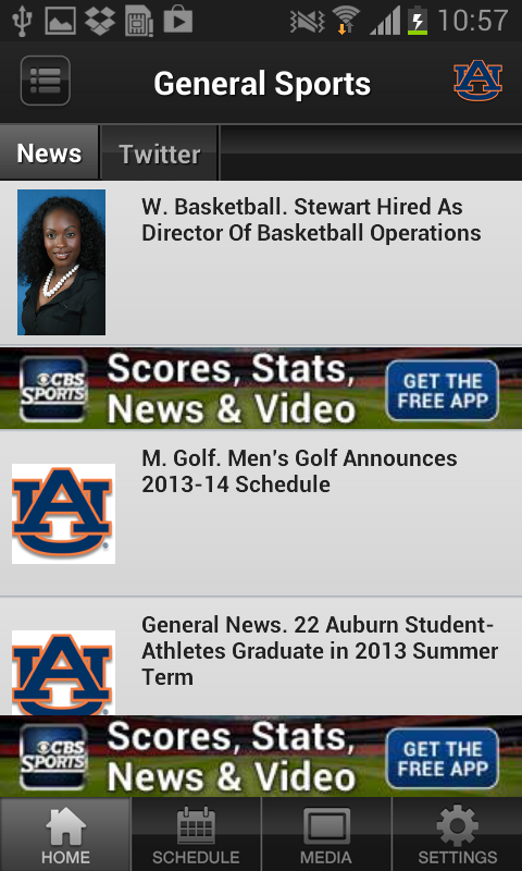 Auburn Tigers - screenshot