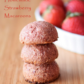 Pure Strawberry Macaroons with Vegan, Paleo, Chocolate-Covered and No Bake Options