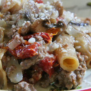 Sausage & Mushroom Rigatoni
