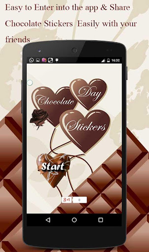 Love Stickers - Chocolate Day